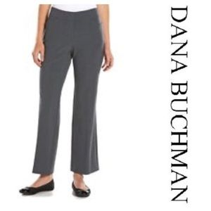 Dana Buchman grey knit pants. Size 16 short